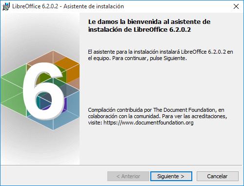 Windows Libreoffice En Español El Paquete De Oficina Por