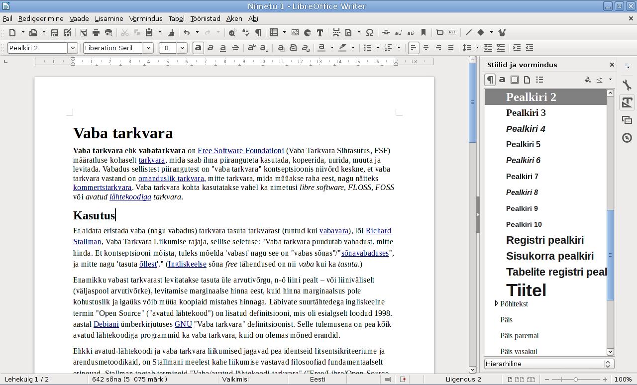 Historia | LibreOffice en español - el paquete de oficina por excelencia